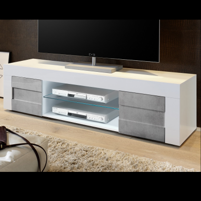 Porta Tv  Easy Beton grande