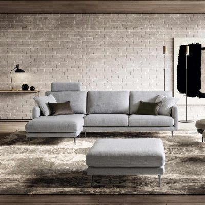 Divano componibile con chaise longue Tidy