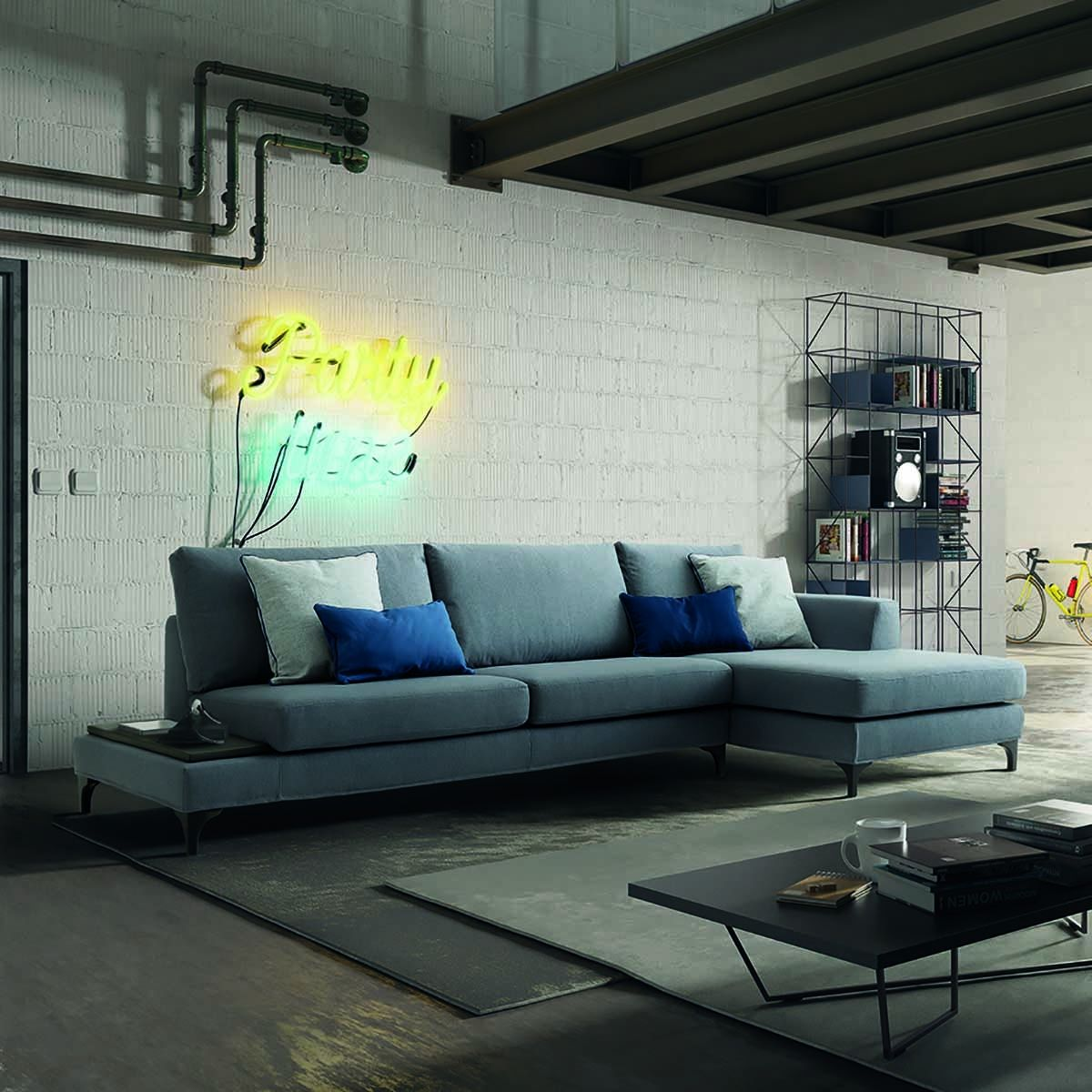 Divano con chaiselongue Avatar - casarredostudio.it