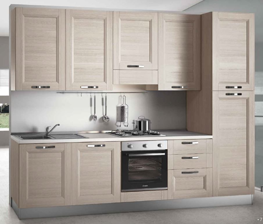 Cucina convenienza componibile lineare catalogo cucine for Cucine componibili in offerta