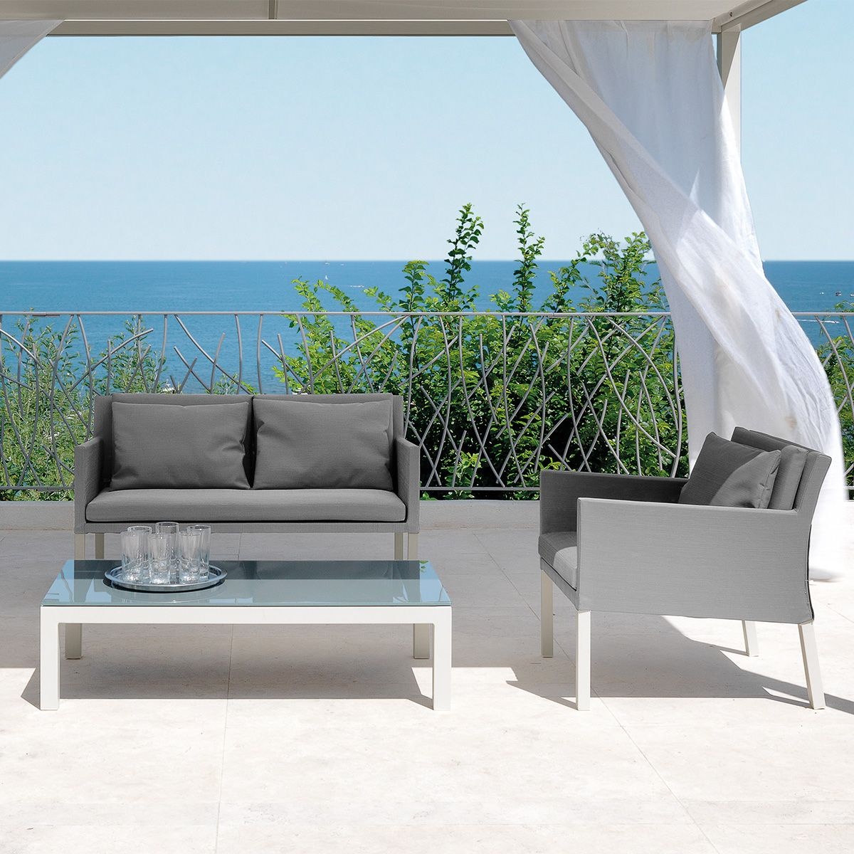 Poltrona step for Arredo terrazzo outlet