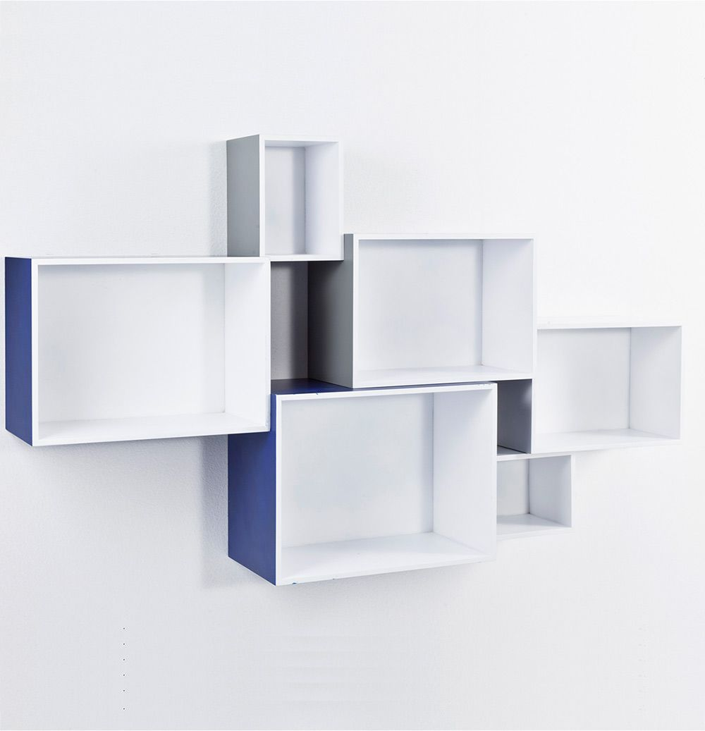 Set 6 cubi mosaiko for Mensole ikea cubo